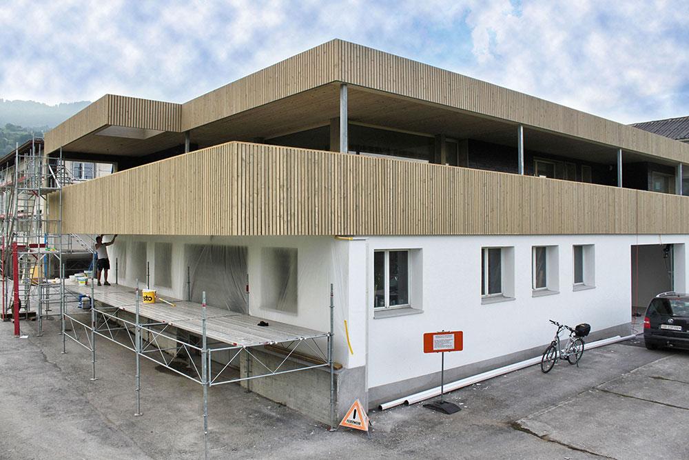 Gut gemocht Fassaden - Brenner AG WU22